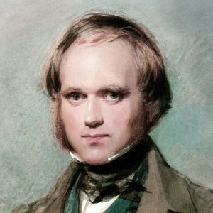 Younger Charles Darwin... in pursuit of animal alertness